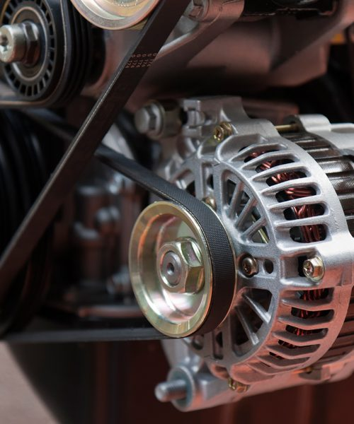 alternator power supply for the electrical circuits of automotive